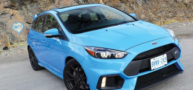 Road Test: 2017 Ford Focus RS – The Smile Generator