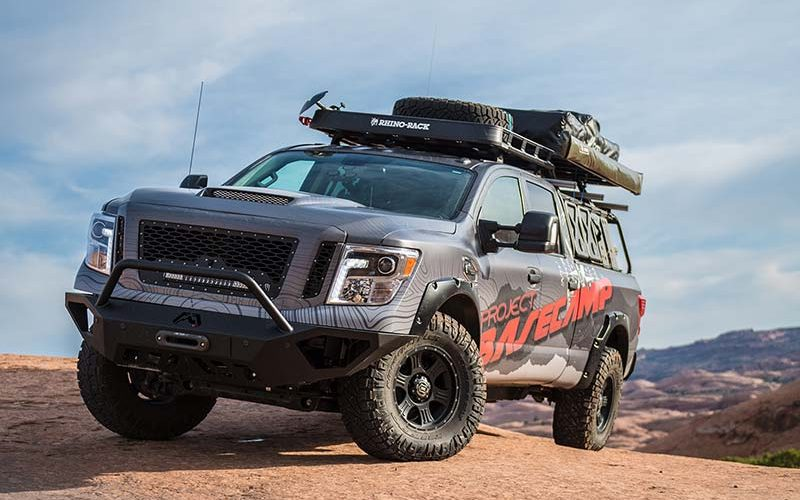 Nissan Unveils Project Basecamp Titan XD Pro-4X at Overland Expo