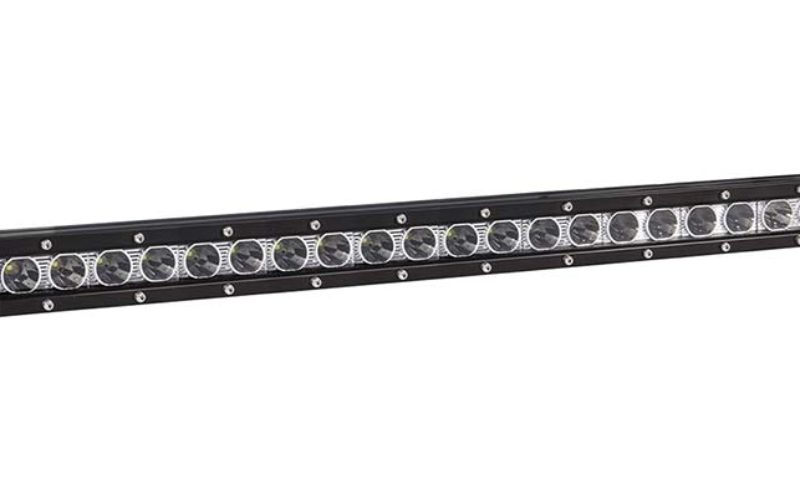 Anzo USA's 20-in. Rugged Hi-Intensity 5W Single-Row LED Off-Road Light