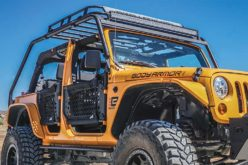 Body Armor 4×4 Jeep JK Overlander Knuckle Joint Rack System