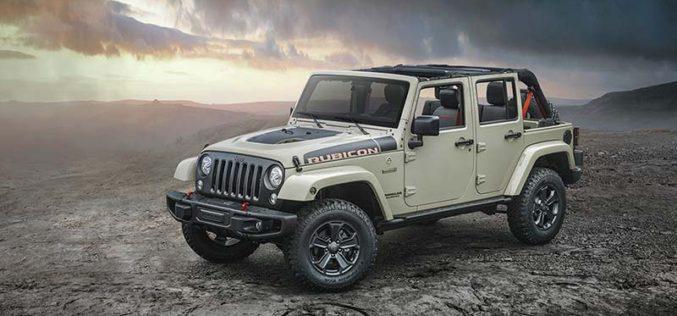 Jeep Introduces All-New 2017 Wrangler Rubicon Recon