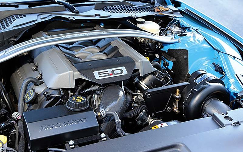 ProCharger Stage 2 and HO Supercharging Systems for Ford Mustang