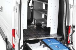 Decked Cargo Van Storage Systems