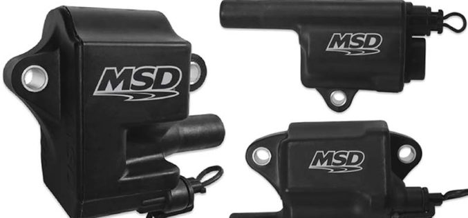 Holley/MSD Announces All-New Black Pro Power Coils for LS Engines