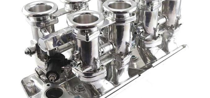 Speedmaster Chevrolet BBC 454 Downdraft EFI Stack Intake Manifold System