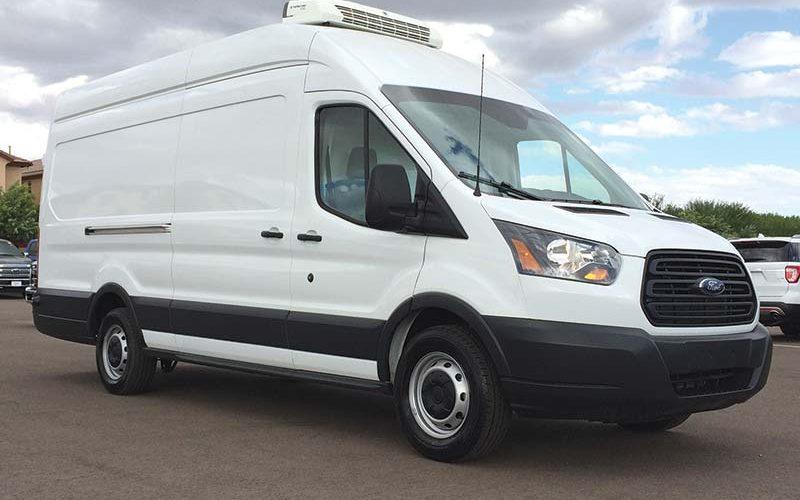 2017 Ford Transit Diesel High-Roof is an Unusual Looking Van – Or Is It?