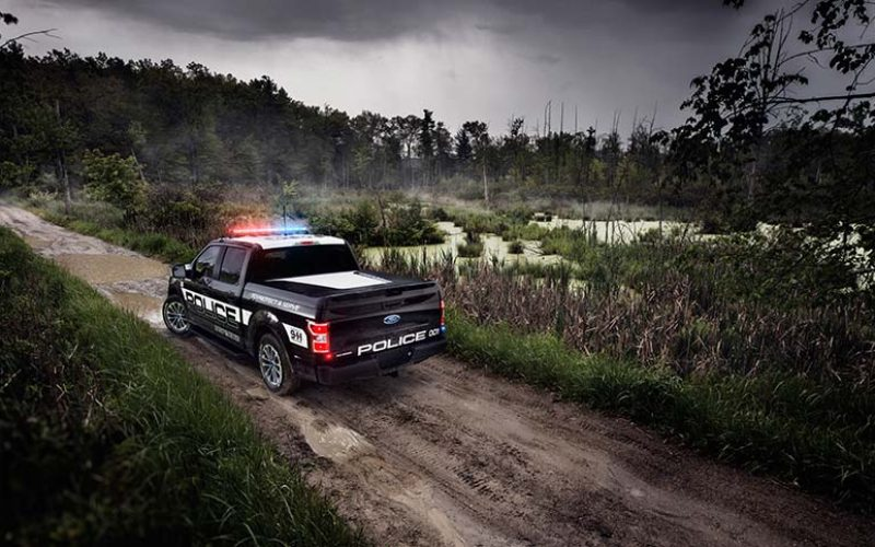 Ford Reveals F-150 Police Responder