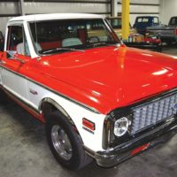 Two-tone Chevrolet C10 represents one of the most popular series of trucks ever built.