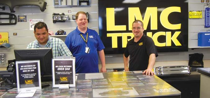 Long Motor Co. Works Long Hours Supplying Truck Parts