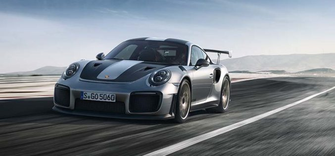 Porsche Unveils Most Powerful Street-Legal 911 Model of All Time