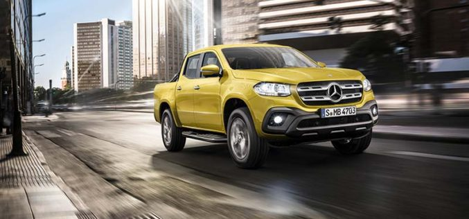 Mercedes-Benz Officially Unveils X-Class Mid-Size Pickup