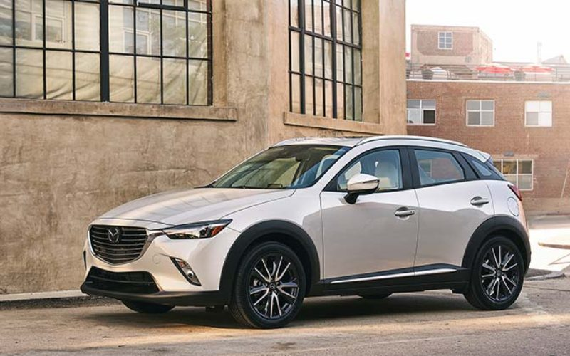 Mazda's CX-3 Receives Facelift for 2018