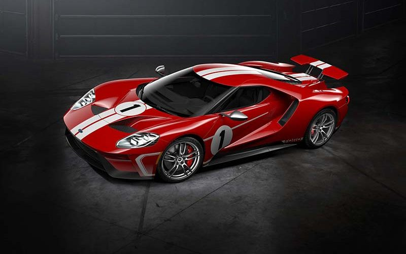 Ford Performance Offering 2018 Ford GT '67 Heritage Edition