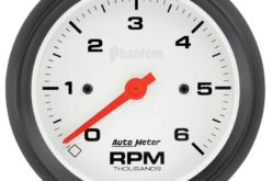 Auto Meter Releases Low-Rev Tachometers
