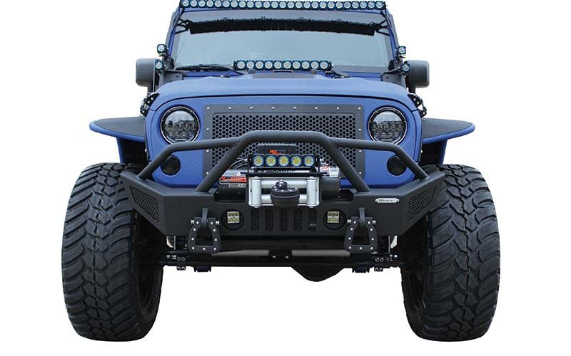 Go Industries New Stage II Jeep Front Bumper