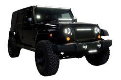 Putco Luminix High Power LED Jeep Headlights