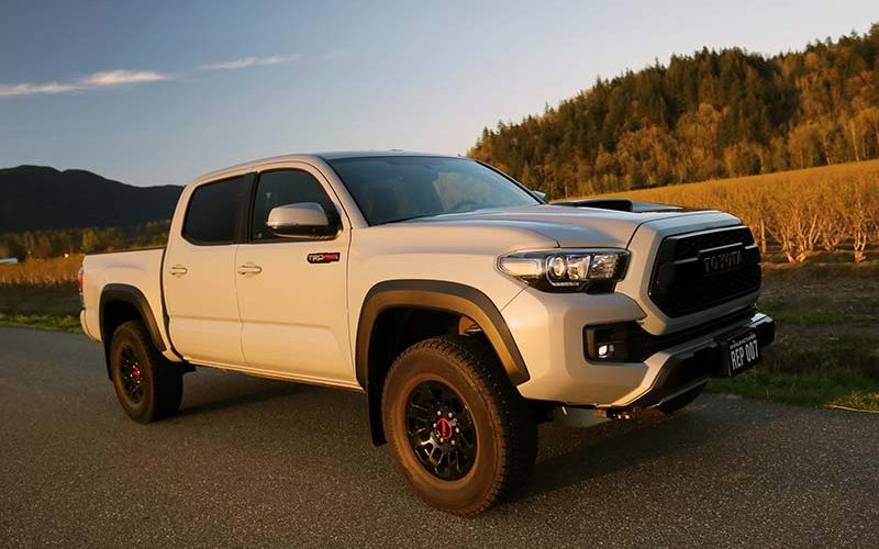 Toyota's TRD Pro Off-Road Packages Offer Rugged Good Looks