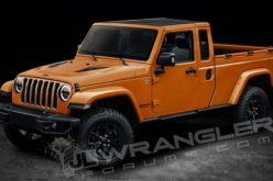 Renderings of Upcoming Jeep Wrangler Pickup Released Online