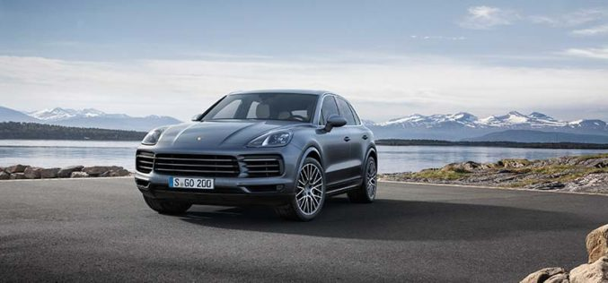 All-New Third Generation Porsche Cayenne Makes Global Debut