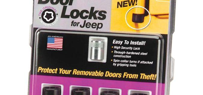 McGard Jeep Wrangler Door Locks