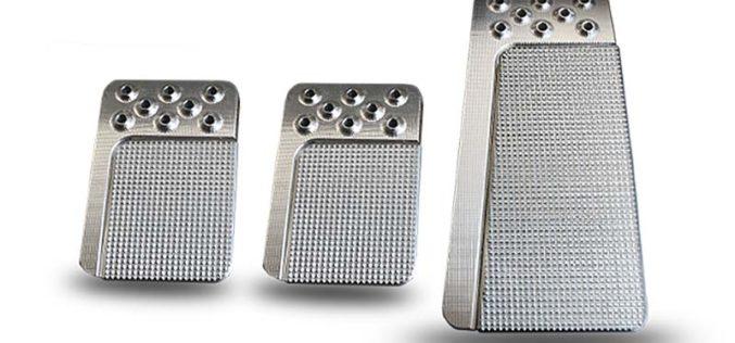 Lokar Goolsby Edge Edition Billet Aluminum Pedal Pads
