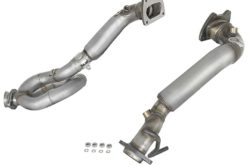 afe Power Stainless Down-Pipe with Loop Relocation Pipe