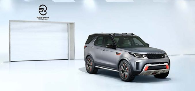 Land Rover Unveils Discovery SVX in Frankfurt
