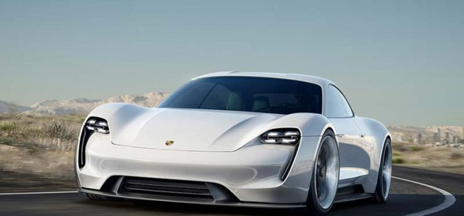 All-Electric Four-Door Porsche Set to Launch at the End of 2019