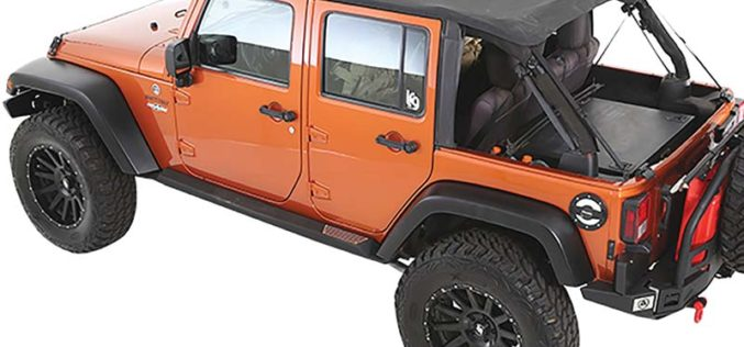Bowless Combo Top Kit for Jeep from Smittybilt
