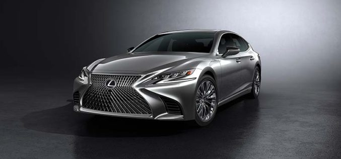 Lexus Introduces All-New Fifth-Generation LS Flagship Sedan
