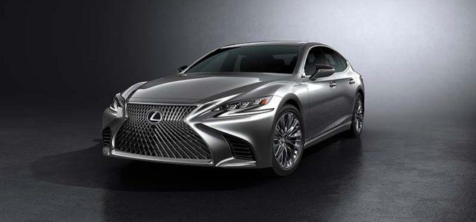 Lexus Introduces All-New Fifth-Generation LS Flagship Sedan