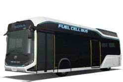 Toyota Announces Launch of Fuel Cell Bus Concept