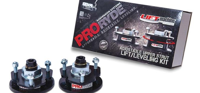 ProRYDE Colorado/Canyon Adjustable Front Lift Levelling Kit