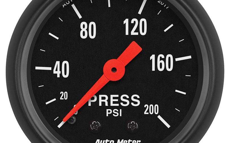 AutoMeter 200 PSI Pressure Gauges
