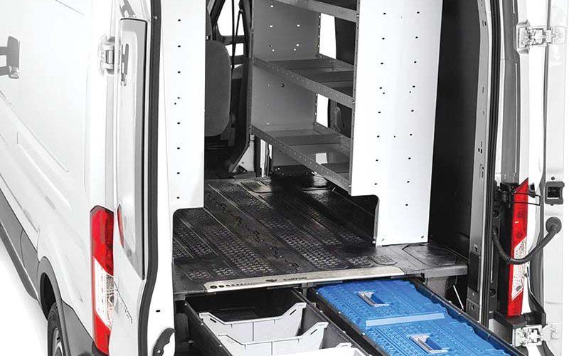 Decked Cargo Van Storage Systems