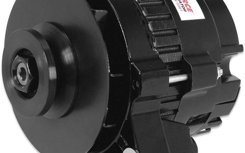 MSD Dynaforce Alternator 160-Amp Black