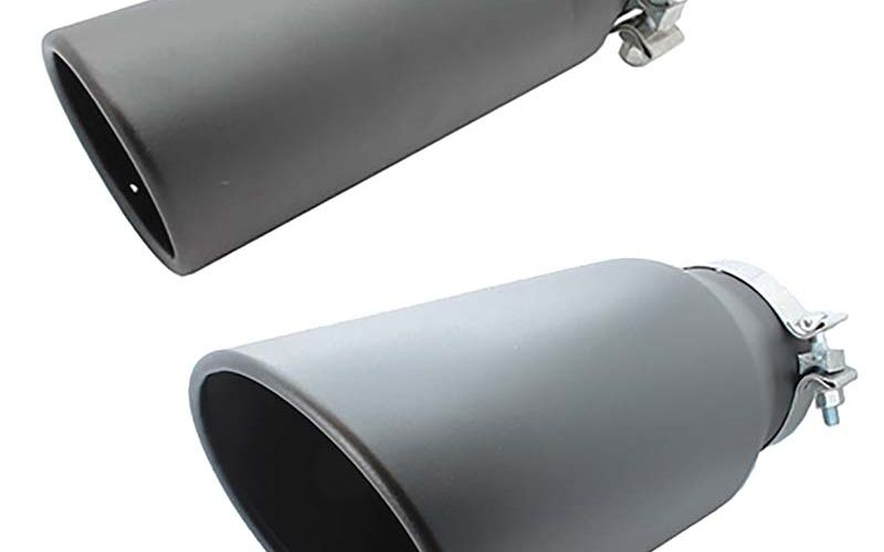Performance World Black Coated Exhaust Tips