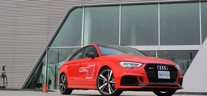 Fast Audis aplenty on the Audi Sport Tour
