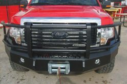 Iron Cross 24 Series Heavy Duty Winch Bumper with Grill Guard