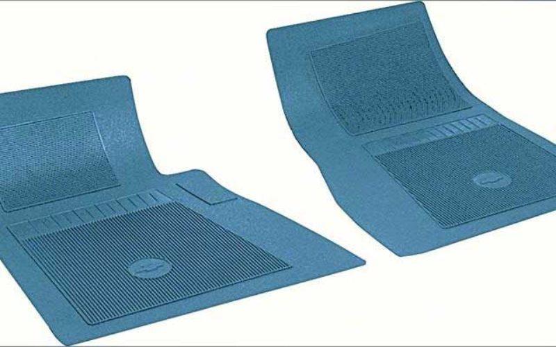 Original Equipment Reproduction Chevrolet 2-Piece Floor Mat Set