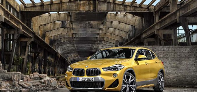 BMW Announces All-New 2018 X2 Crossover