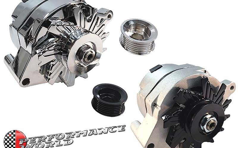 Performance World High-Amp Alternator for Ford