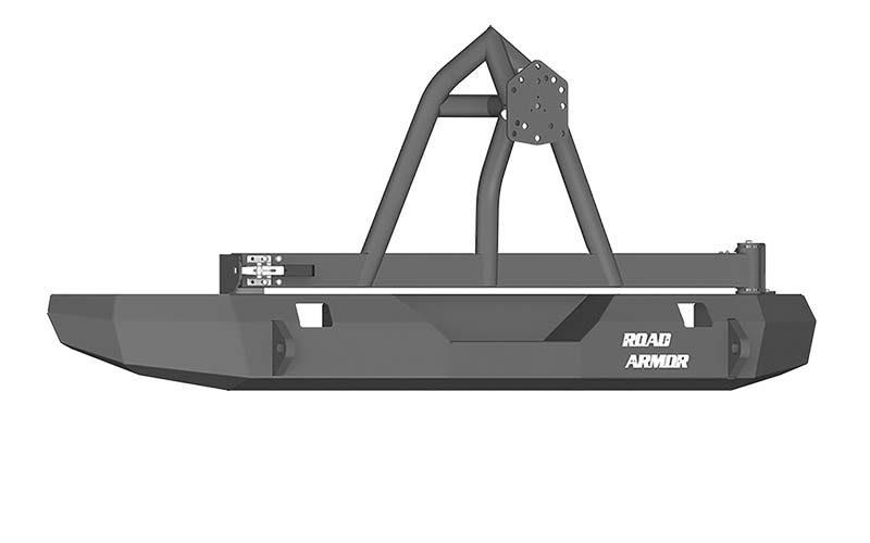 Road Armor Rear Stealth Non-Winch Bumper