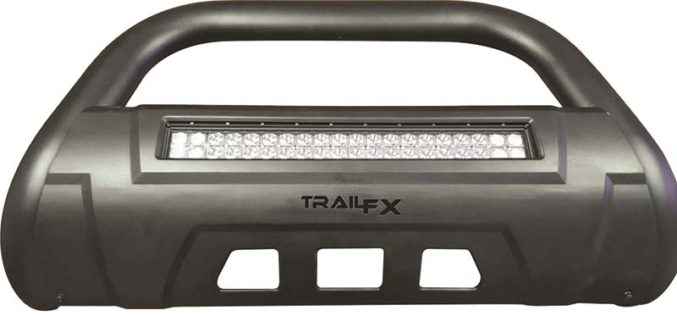TrailFX 3.5-In. Oval Bar with Double Row LED Light Bar