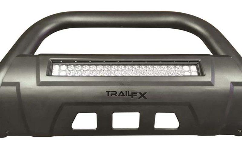TrailFX 3.5-In. Oval Bar with Double Row LED Light Bar