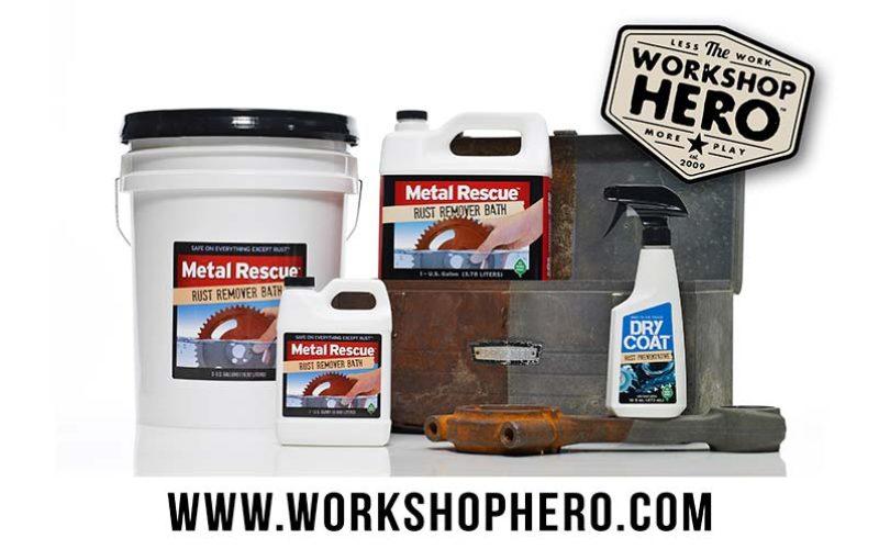 Workshop Hero Metal Rescue Rust Remover Bath