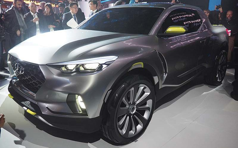 Report Suggests Hyundai May Be Launching Pickup Truck in North America