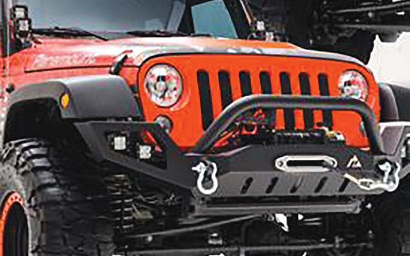 Jeep Wrangler JK Full Width LED Front Bumpers from Paramount Automotive