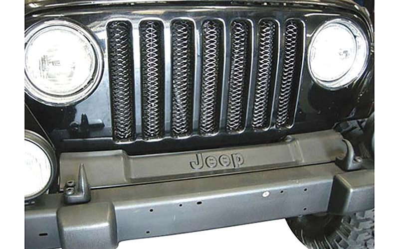Rampage Products One-Piece 3D Grille for Jeep