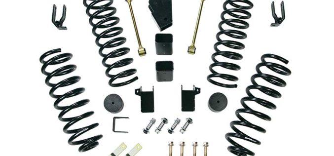 Cap-It 4-Inch Lift Kit for Jeep JK